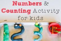 123'S & MORE! / Ample activity ideas for counting, numbers, patterning, comparing, measuring, shapes, colors, patterns, memory and more!  Perfect for parents and teachers of preschoolers!