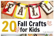 FALL Fun & Learning / Preschool fall related activities for the classroom and home! Including harvest, apples, spiders, ghosts, pumpkins, Halloween, Thanksgiving, turkeys, leaves and more!