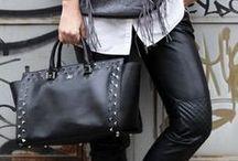i need a Katy Bag. / È la nuova IT BAG! Già amatissima da tantissime fashion bloggers, la Katy Rock la trovate anche sul nostro sito nelle due versioni BLACK e WHITE :)