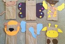 animal crafts kindergarten