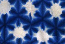 panos  coloridos com super azul / Azul    cor    nuances  tons