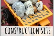 """Construction / Activity ideas inspired by the children's book: """"Goodnight, Goodnight, Construction Site"""""""