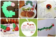 """Book: The Very Hungry Caterpillar / Activity ideas inspired by the children's book: """"The Very Hungry Caterpillar"""" by Eric Carle.  Perfect for preschoolers and beyond!"""