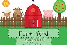 Farm / Activity ideas for farm life units.  Includes farm animals, tractors, produce, and more!  Lots of wonderful crafts.  Perfect for parents or teachers of preschoolers!