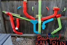 Outdoor Play Spaces / Fun ideas for transforming outdoor spaces into engaging playscapes for children.