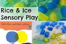 """Book: Little Blue and Little Yellow / Book extension ideas for """"Little Blue and Little Yellow"""" and mixing colors activities"""