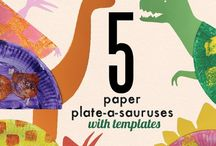 Dinosaurs / Dinosaurs for preschoolers! So many fun ideas for arts, crafts, science, dramatic play and more!