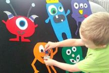 """Monsters / Fun monster related activities perfect for fall and can be paired with books such as: """"Where the Wild Things Are"""" and """"Go Away Big Green Monster""""."""
