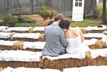 Barn Weddings / Ideas for a rustic, country barn wedding