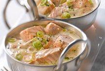 cuisine salée poissons / plats poisson