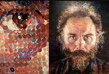 Photographer Chuck Close / https://en.wikipedia.org/wiki/Chuck_Close