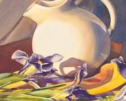 Still Lifes / Still life works of art by members of American Women Artists.