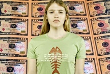 Organic Cotton T-shirts with environmental designs / Ban T-shirts sells numerous organic cotton T-shirts with designs that focus on important environmental issues like climate change, pollution, sustainability and the use of GMOs.
