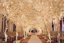 Wedding Decorations & Decor / Ideas for wedding decorations...flowers, candles, etc. / by Fiona Ross