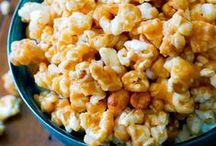 Caramel Corn / Caramel Corn Recipes that make me drool.
