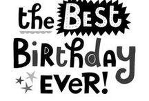 verjaardag/birthday