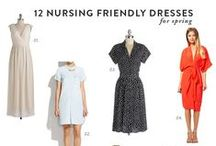 Maternity & Nursing Fashion / Dressing for the bump and after