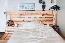 | Decor para o quarto | / Ideias de decoração para quartos de apê.