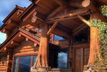 LOG HOMES & TIMBERFRAME