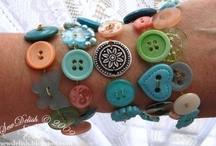 Craft with Buttons / Who doesn't love #buttons.  All those shapes, colors, textures....delicious!