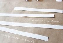 DIY : Papercraft & Origami