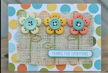 Paper Crafts: Handmade Cards / This paper crafts board has images of handmade cards that we love.