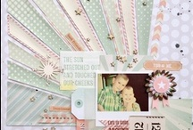 Paper Crafts: Scrapbooking / This paper crafts board has really cool scrapbook layouts that we like.
