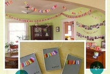 Paper Crafts: Handmade Party Decor / This paper crafts board has images of handmade party decor we thought was cool.