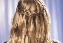 How To Make A Waterfall Braid / Learn how to make a waterfall braid with these simple steps. This timeless hair style is perfect for all age groups and can be paired with a casual outfit or elegant dress. / by Perfecter Beauty Brands