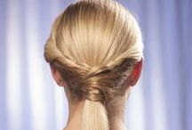 How To Make A Wrapped Ponytail / Learn how to make a wrapped ponytail with these easy steps at home. This unique style is truly elegant for special events and simply gorgeous for everyday looks as well. http://www.hairperfecter.com/how-to-make-a-wrapped-ponytail/ / by Perfecter Beauty Products
