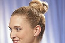 Thanksgiving Hairstyle Tips | Easy Updo's That Last / You are busy enough running around for all of your guests - you don't have the time to worry about your hair falling flat or an updo landing in your face. Choose your favorite among these do-it-yourself styles that are guaranteed to beat the heat of the kitchen this year. http://www.hairperfecter.com/holiday-hair-styles-easy-updos/ / by Perfecter Beauty Brands