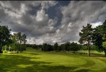 Bernard Hunt Golf Course / The Bernard Hunt Course is named after Bernard Hunt, MBE, who was former head professional in the 80's & 90's.   Bernard won 30 times on the European PGA Tour, played in the Ryder Cup 10 times, twice as Captain, and won the Tour's Order of Merit in 1961 and 1963.  #bernardhunt #foxhills #golf #pga #rydercup / by Foxhills Hotel and Resort