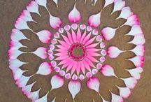 Danmala - Natural Mandalas / These are mandalas made from nature!
