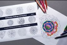 Mandalas for Coloring / Mandala printable coloring pages for adults.