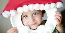 HOLIDAYS: Christmas / Activities and Ideas for kids to do and make for Christmas