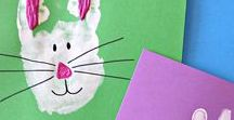 HOLIDAYS: Easter / Activities and Ideas for kids to do and make for Easter