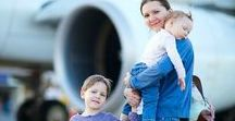 Travelling with kids / Tips and ideas to help parents when travelling with kids