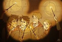 Marauders / Moony, Wormtail, Padfoot & Prongs - they deserve their own books