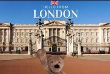 The adventures of Walt the Bear / The adventures of Walt from Walthamstow. Our favorite Teddy bear will take a pleasure to show you some great places in London and our kids' furniture