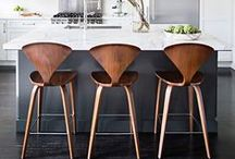 Kitchen Seating / From traditional dining table chairs to modern breakfast bar stools, find inspiration here.