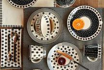 Trend: Ethnic Monochrome / Keep it simple yet striking with this season's ethnic monochrome trend. Indigenous crafts and designs are reinterpreted and repurposed to add tribal flair to the contemporary kitchen.