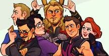 Marvel / My suddenly and unexpectedly got love for the Avengers but mostly Science Bros