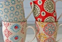Glassware, Porcelain & China / There's no need for the things you use everyday to be ordinary. Opt instead for glassware that's a cut above the rest, durable mugs that are both practical and beautiful, and china cups to make each sip special.