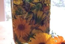 Herbal Oils / Infused and macerated oils with herbs