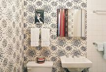 Bathrooms At HOME  / It might be the smallest room of the house (usually), but a bathroom has lots of potential for style. / by HuffPost Home