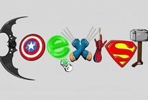 Marvel & DC / by Candice Baier