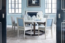 Dining Rooms At HOME / Great dining rooms that might entice you to start eating around the dinner table again. / by HuffPost Home