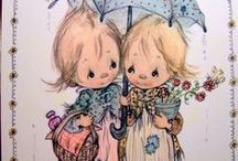 Cute illustrations / Betsey CLARK