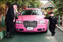 #pinklimo in #indianapolis / Indys only PINK Chrysler 300 stretch #limo. Perfect for #weddings, #prom, #birthdays...any event really!