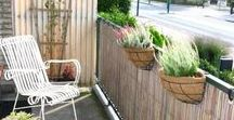 Balcony privacy screens / Vinyl printed screens for more privacy on your balcony, patio or terrace.
